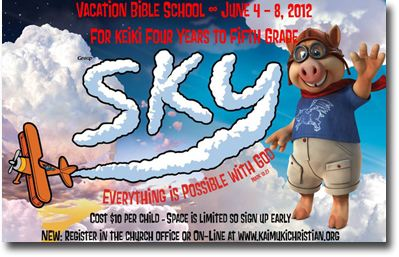 Kaimuki Christian Church - Vacation Bible School 2012 - Kaimuki - Honolulu, Hawaii News
