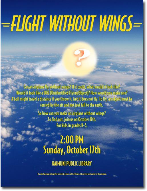 Kaimuki Library - Flight Without Wings - Kaimuki - Honolulu