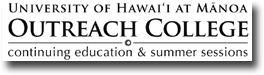 University of Hawaii Manoa Outreach College