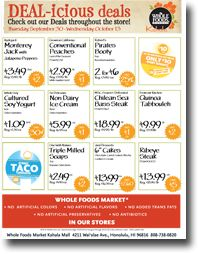 image regarding Whole Foods Printable Coupon named Full food price cut coupon / Places to eat close to lakeside shopping mall