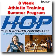 8 Week Summer Athletic Training Program By Hawaii Optimum