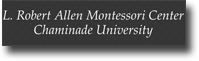 L. Robert Allen Montessori Center Chaminade University