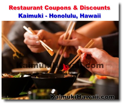 Dining out coupons honolulu