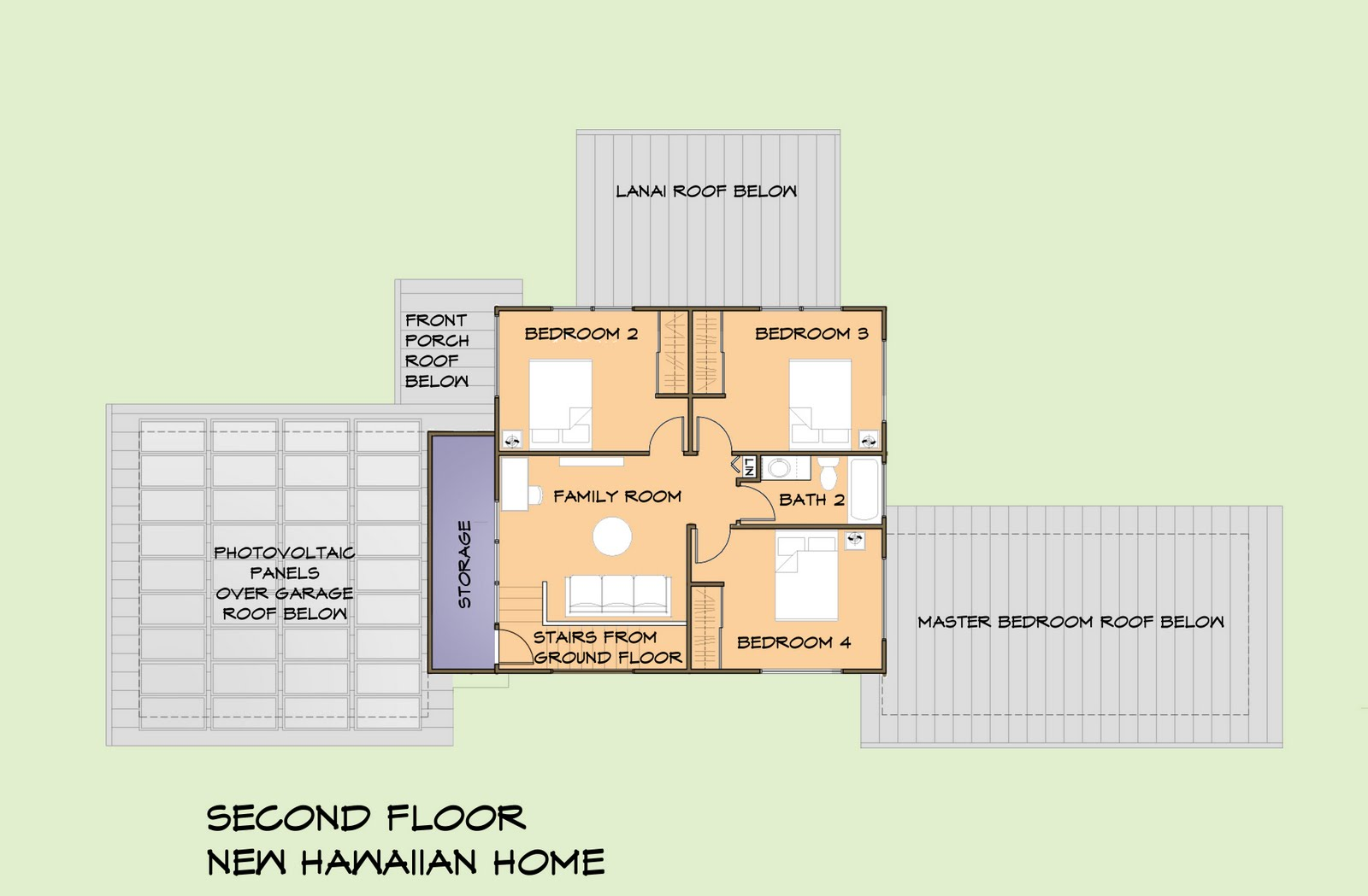 Hawaiian floor plans houses