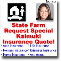 Kaimuki hawaii newsletter july 2011 kaimuki honolulu for Home insurance hawaii