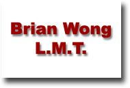 Brian the Massage Guy - Brian Wong L.M.T.