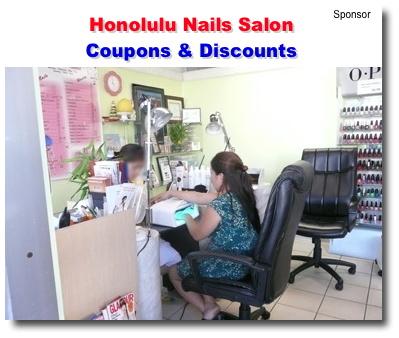 Honolulu nails salon coupons and discounts kaimuki for 808 salon honolulu