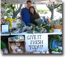 Give It Fresh Today - Produce Donation Project At Kapiolani Community Colle