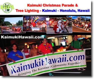 Kaimuki Christmas Parade 2020 Kaimuki Christmas Parade and Tree Lighting   Honolulu, Hawaii