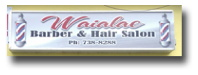 Waialae Barber & Hair Salon - Kaimuki, Hawaii