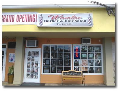 Waialae barber hair salon kaimuki hawaii kaimuki for 808 salon honolulu
