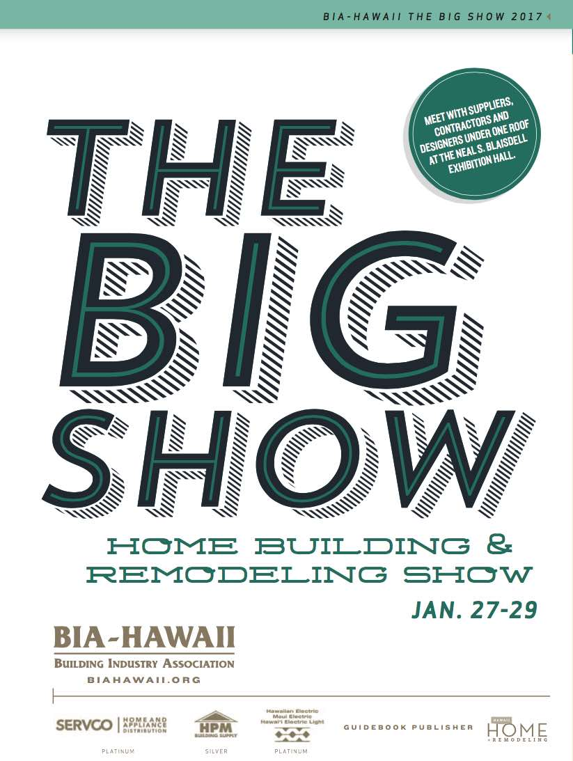 Bia Home Building Remodeling Show 2017 Coupon Discount Kaimuki Honolulu Hawaii News