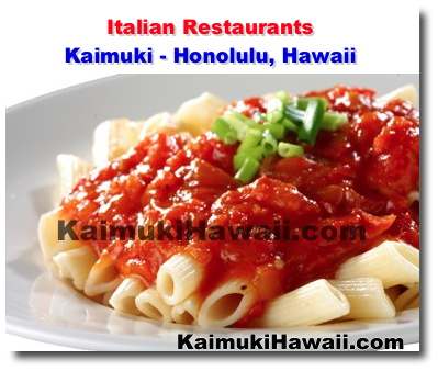 One Of Kaimuki S Best Kept Secrets Is It Fantastic Lineup Italian Restaurants From Casual To Fine Dining Bistros You Ll Find A Great Place Enjoy