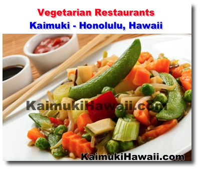 Vegetarian Restaurants Kaimuki Honolulu Hawaii News