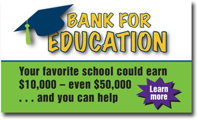 bank for education is a