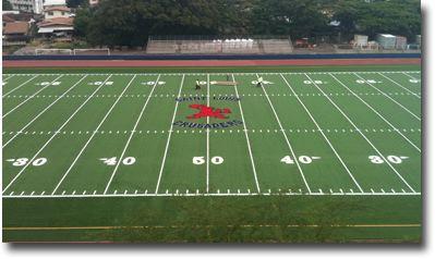 Car Financial Services >> Photo Of Saint Louis School Newly Resurfaced Football Field - Kaimuki - Honolulu, Hawaii News