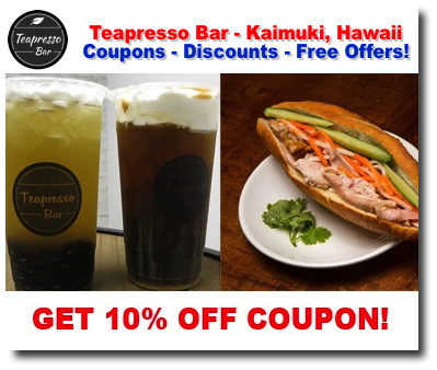 Hawaii coupons deals