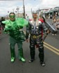 The Green Lantern and Thor make an appearance at Celebrate Kaimuki Kanikapila 2011