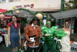 More costumes at Celebrate Kaimuki for Goodwill's GLAM! & Ghouls Costume Contest