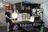Folks at Elders Elite booth at Celebrate Kaimuki