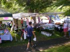 Lots of local products to shop for at the Diamond Head Arts Crafts Fair