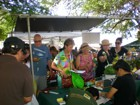 Lots of local produce to choose from at the Diamond Head Arts and Crafts Fair