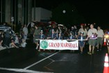 Grand Marshal leads the Kaimuki Christmas Parade 2011