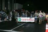 Grand Marshal leads the Kaimuki Christmas Parade 2011