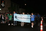 Central Pacific Bank joins the Kaimuki Christmas Parade 2011