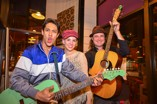 Entertainers kept the music flowing at Coffee Talk