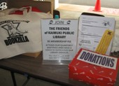 Help support the Friends of Kaimuki Library!