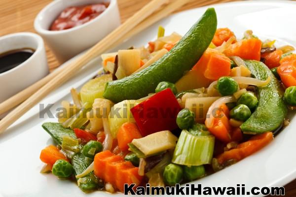 Vegetarian Restaurants Kaimuki Honolulu Hawaii
