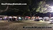 Ono Fridays Kaimuki at Kaimuki High School