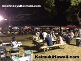 It's a great night to enjoy ono food and good company at Ono Fridays Kaimuki
