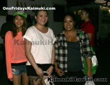 Showing their support to Ono Fridays Kaimuki and the Kaimuki High School Football Team!