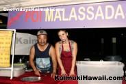 Angelo's Malassada us ready to serve up some ono poi malasadas at Ono Fridays Kaimuki
