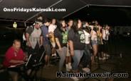 Kaimuki HS students performing during Ono Fridays Kaimuki